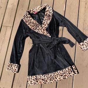 RARE Betsey Johnson Bow-Back Mini Robe